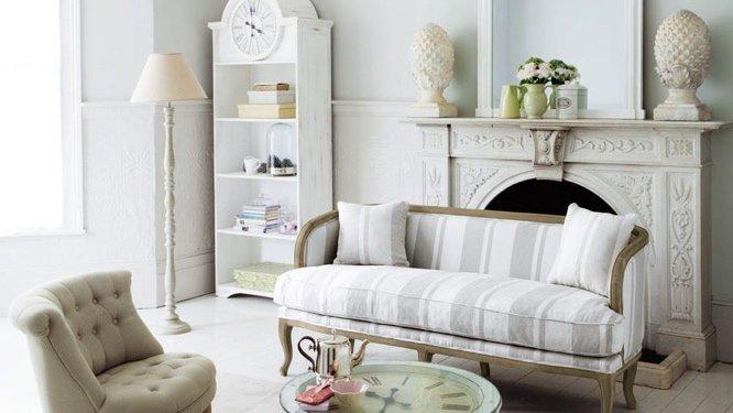 des id es d co pour apporter un c t campagne chic au salon. Black Bedroom Furniture Sets. Home Design Ideas