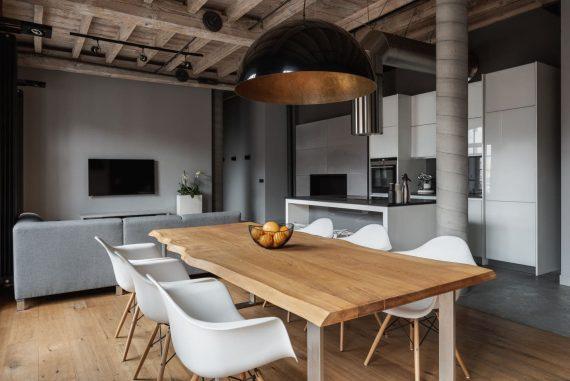 table design bois salon