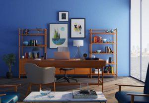 peinture salon maison