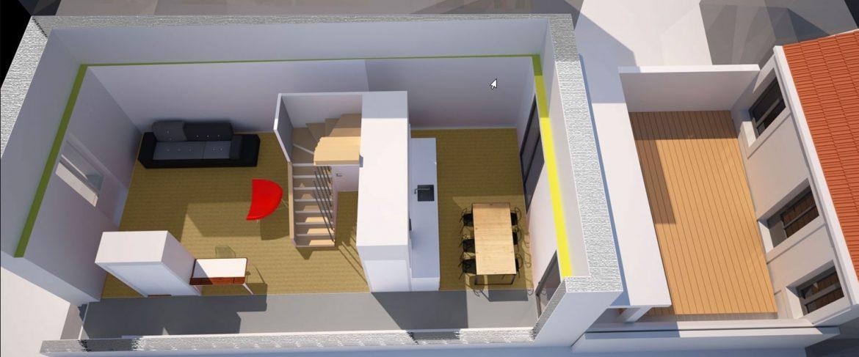 dessin maison immobilier