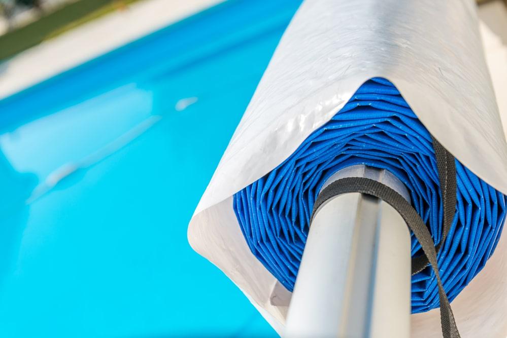 enrouleur de bâche de piscine
